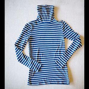 J. Crew Striped Turtleneck Sweater NWT Size S
